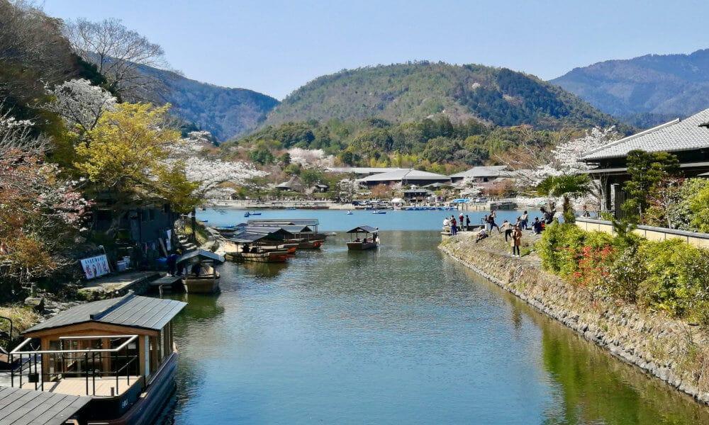 Arashiyama Kyoto hanami